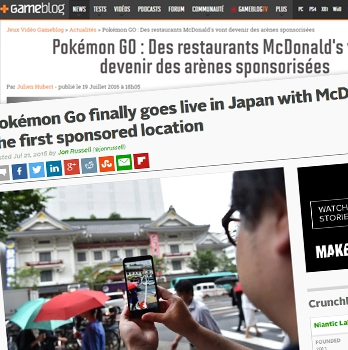 Pokemon GO au Japon
